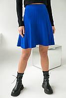 Стильная юбка клеш ebelieve - синий цвет, L/XL (есть размеры), фото 1