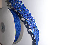 Тасьма декоративна вьюнчик блакитна