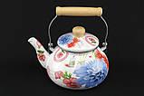 Чайник емальований 2,5 л 0969 ТМА-ПЛЮС, фото 2