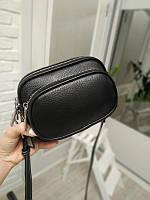 "Женская кожаная сумка мини ""Люси Black"", фото 1"