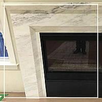 Современный мраморный камин в доме: цена, фото., фото 1