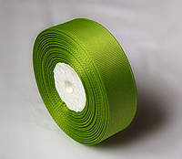 ЛЕНТА РЕПСОВАЯ  2,5 СМ зелёная