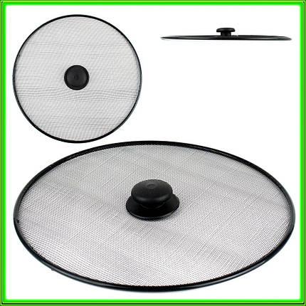 Крышка сетка для сковороды D33см, фото 2