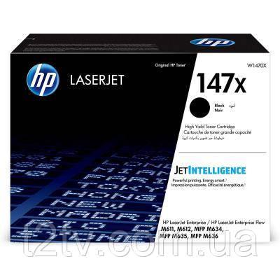 Картридж HP LJ 147X Black 25.2 K (W1470X)