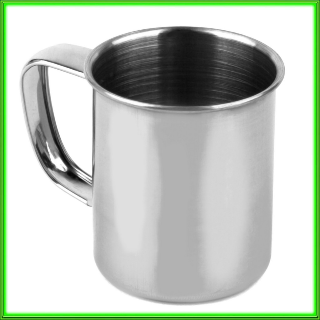 Кружка з нержавіючої сталі № 5_V0,080л.(D5см H 5,5 см)