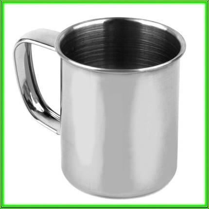 Кружка з нержавіючої сталі № 5_V0,080л.(D5см H 5,5 см), фото 2