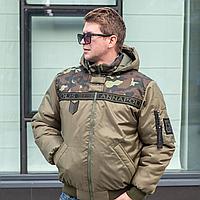 Модная зимняя куртка для мужчин размеры 44-58