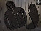 ХИТ 2020! Спортивный костюм Утепленный на флисе Nike найк (штаны+кофта), чоловічий спортивний костюм, фото 2