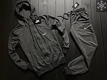 ХИТ 2020! Спортивный костюм Утепленный на флисе Nike найк (штаны+кофта), чоловічий спортивний костюм