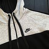 ХИТ 2020! Спортивный костюм Утепленный на флисе Nike найк (штаны+кофта), чоловічий спортивний костюм, фото 9