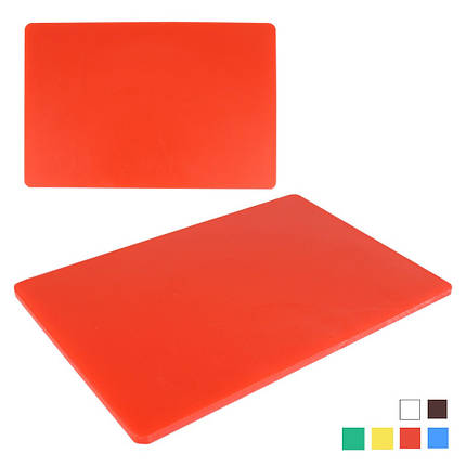 Доска разделочная полипропиленовая 40 см*30 см толщина 1,5 см, фото 2