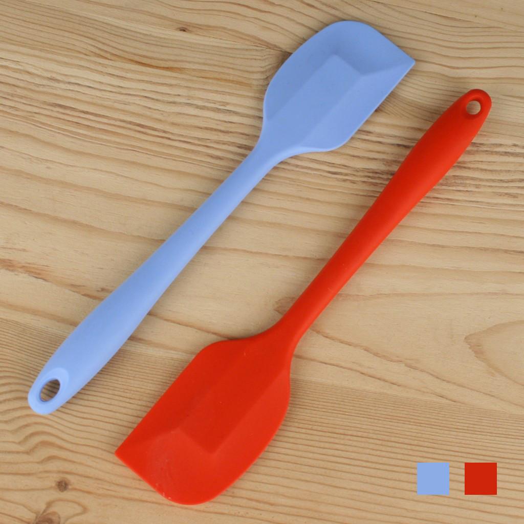Лопатка силиконовая цельная L 20 см ширина 4 см