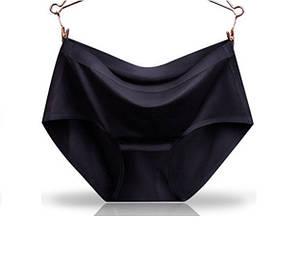 Трусы женские слипы бесшовные Elegance S 40-42 р Черный (NH00227)