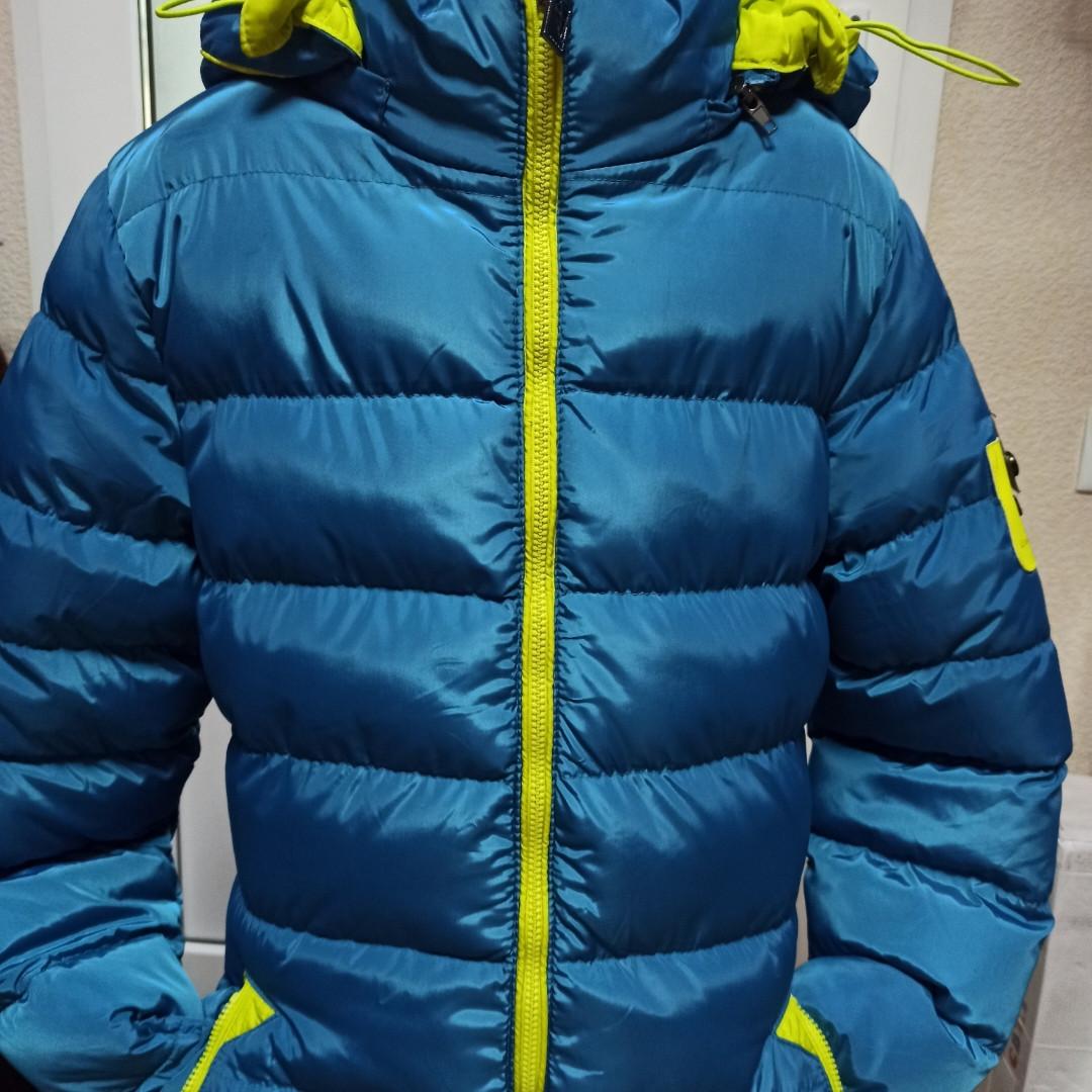 Модное зимнее теплое красивое пальто для девочки. Подкладка-махра.