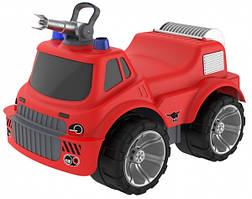 Машинка для катания малыша Big  Пожарная красная с водным эффектом