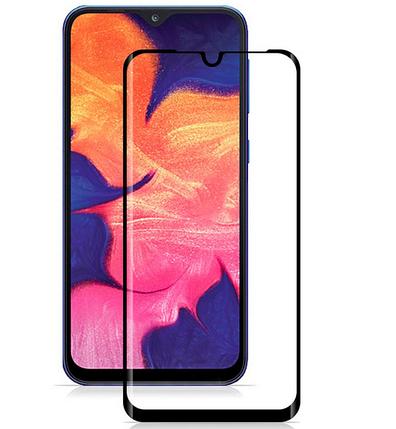 Защитное стекло для Samsung A10 Black 6D UA (KD), фото 2