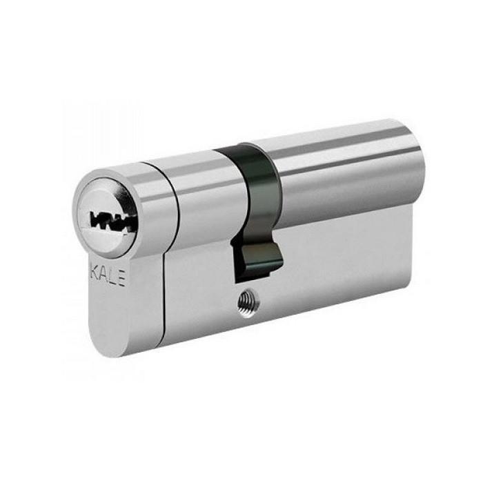 Цилиндры Kale 164 KTB S  30+10+30 70 mm никель 5 ключей