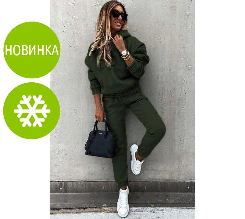 """Женский спортивный костюм на флисе """"Landor"""""""
