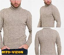 Светр чоловічий TRIST STAR 5173 VIZON 38% шерсть 30% поліамід 22% акріл 10% еластан XL(Р)