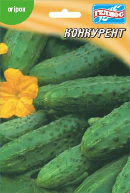 Семена огурцов пчелоопыляемых Конкурент 10 г, фото 2