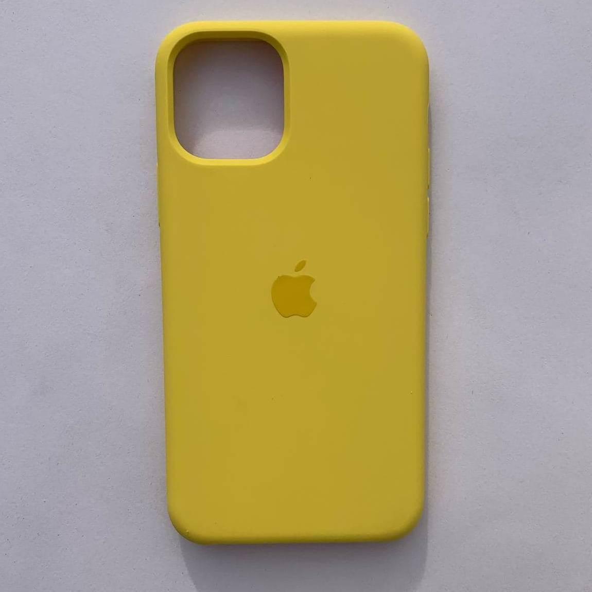 Накладка оригінальна Apple Silicone Case для iPhone 11 Pro Max Canary Yellow