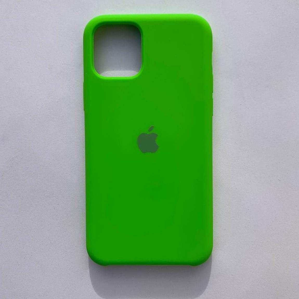 Чехол-накладка Silicone Case для Apple iPhone 11 Pro Max Dark Green