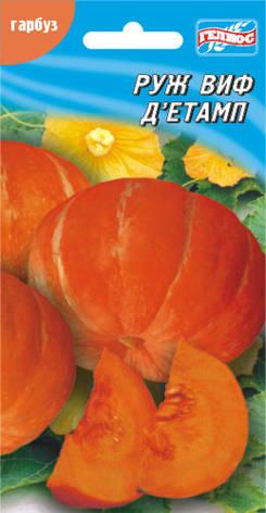 Семена тыквы Руж виф Дэтамп 10 шт, фото 2