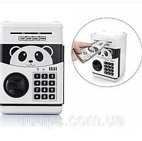 Игрушка-сейф копилка для детей Praid с кодовым замком и купюроприемником для бумажных денег и монет