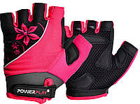 Велоперчатки PowerPlay XS Розовые (5281_XS_Pink)