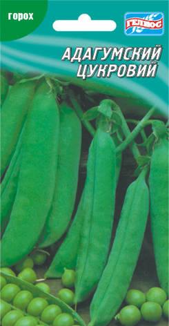 Семена гороха сахарного Адагумский 10 г, фото 2