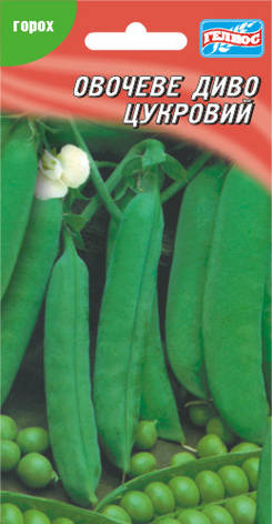 Семена гороха сахарного Овощное чудо 10 г, фото 2
