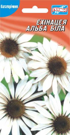 Эхинацея Альба белая 15 шт., фото 2