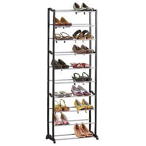 Полка для обуви Amazing Shoe Rack с 10 полками Черный (R0508)