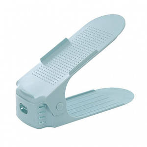 Подставка для обуви Double Shoe Racks LY-500 Blue (4035-11847a)