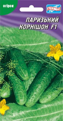 Семена огурцов пчелоопыляемых Парижский корнюшон F1 20 шт., фото 2