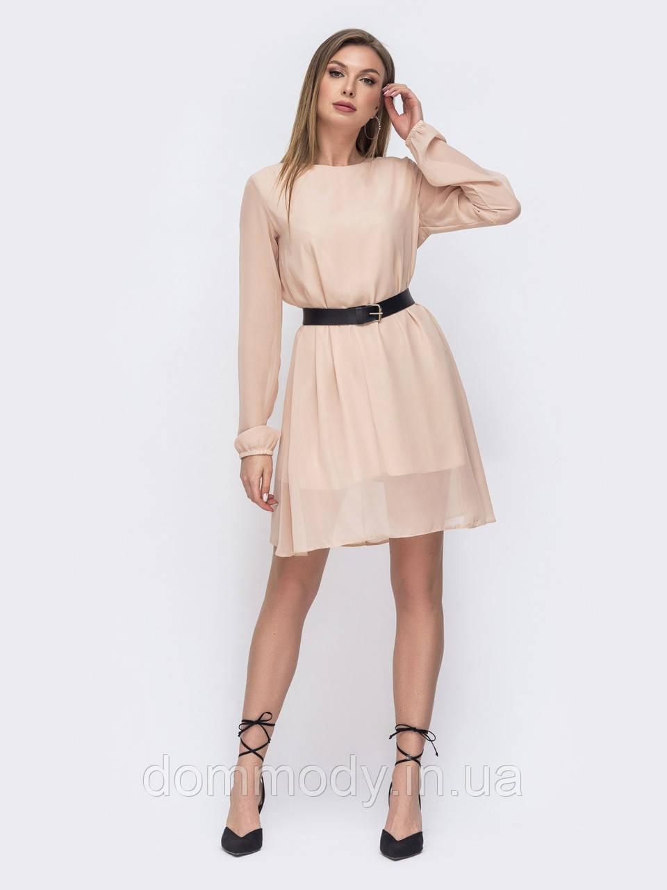 Платье женское Vivan бежевого цвета