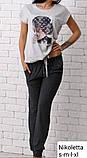 Піжама з довгими штанами Nikoletta 60031, фото 7