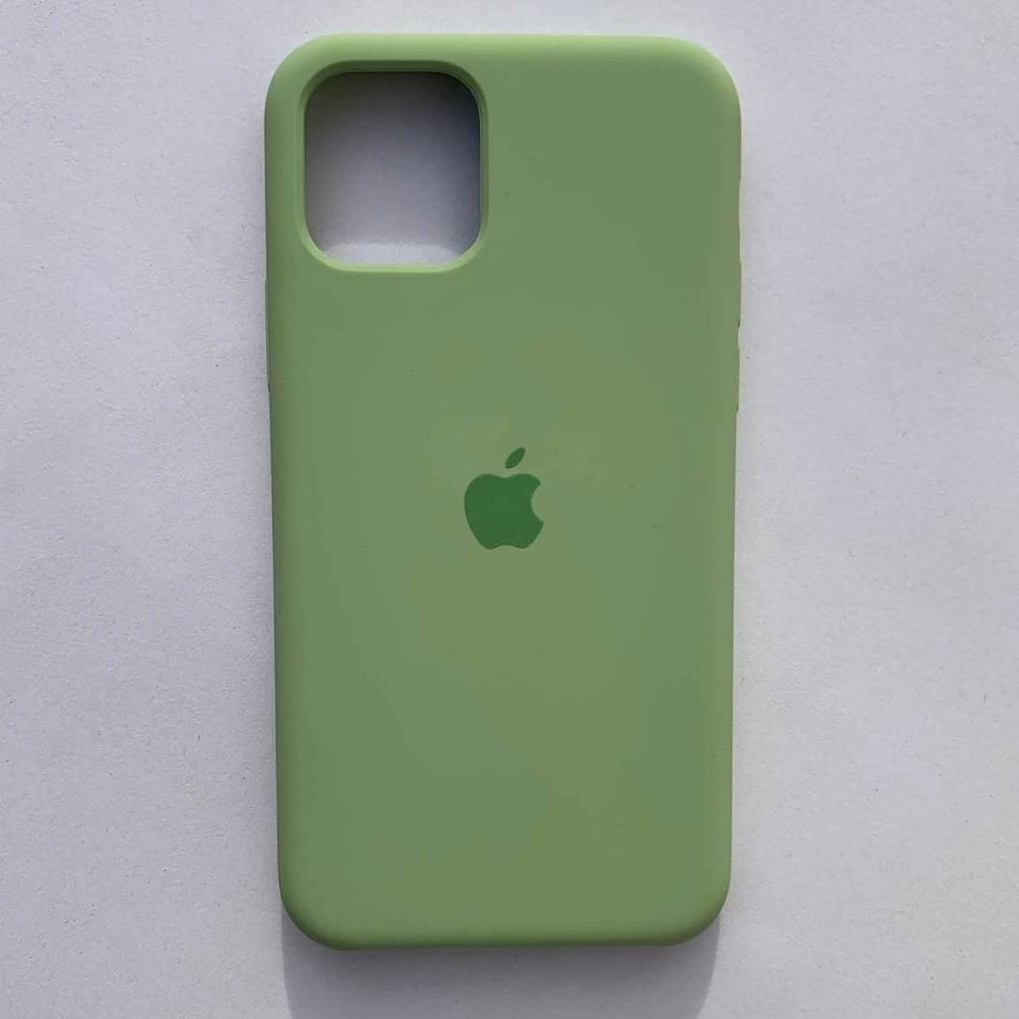 Накладка оригінальна Apple Silicone Case для iPhone 11 Pro Max Mint Green