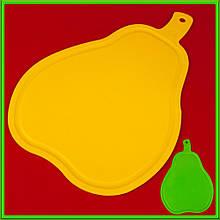 Дошка обробна пластикова Груша L36*25см товщина 0,45 см