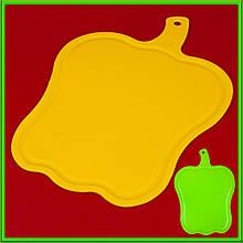 Доска пластиковая Перец 36,5 см*25,5 см толщина 0,45 см