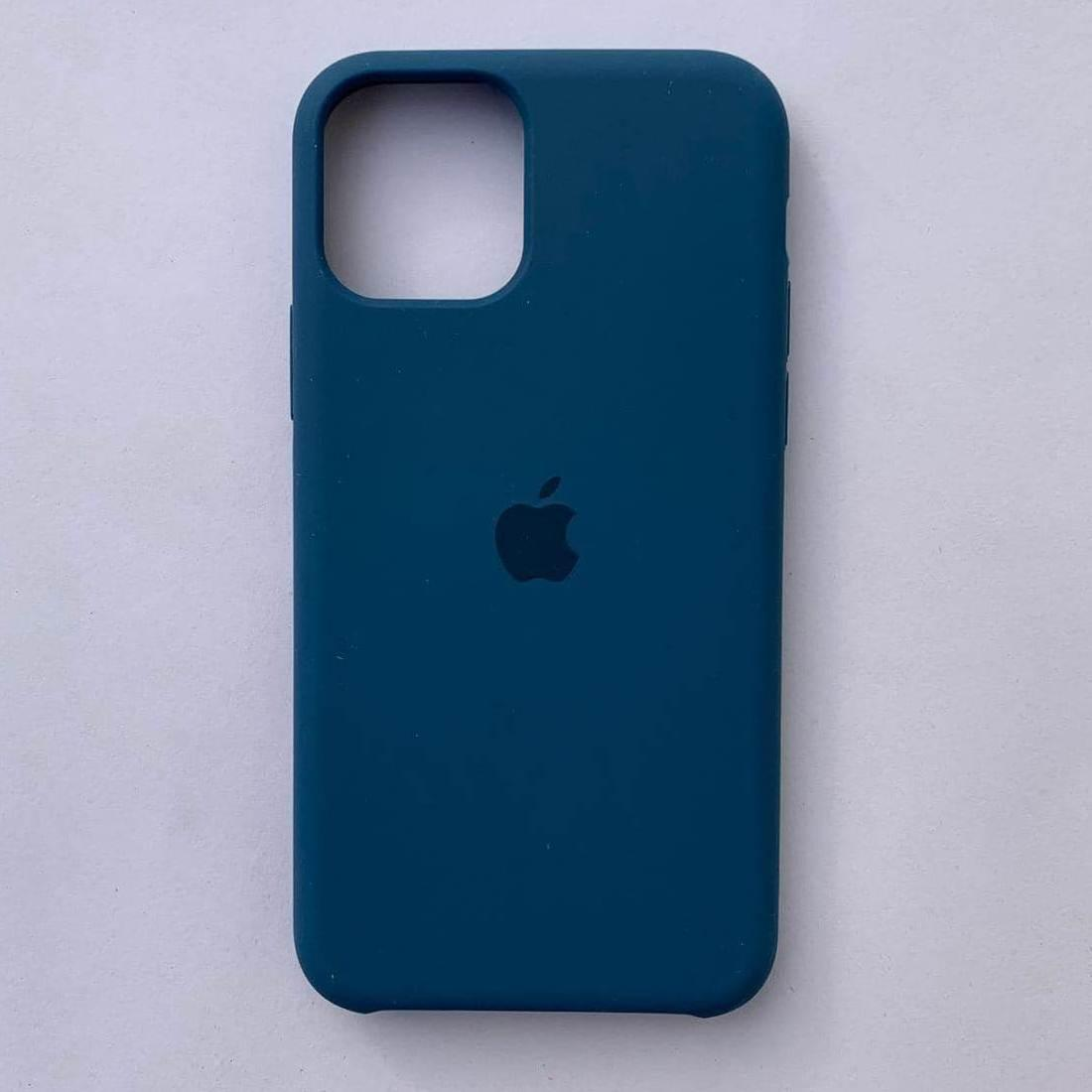 Чехол-накладка Silicone Case для Apple iPhone 11 Pro Max Ocean Blue
