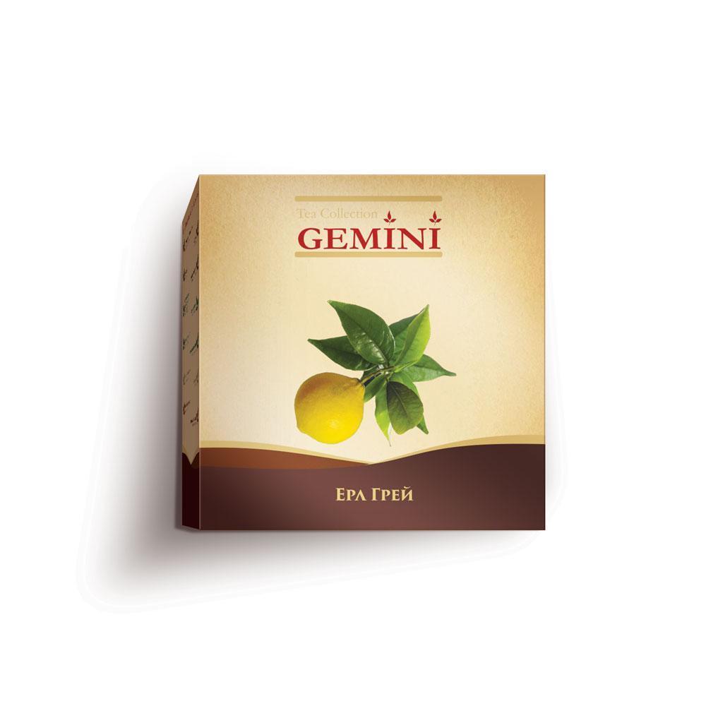 Чай чорний пакетований Gemini Tea Collection Grand Pack Ерл Грей 4 м х 20 пакетиків (4820156430850)