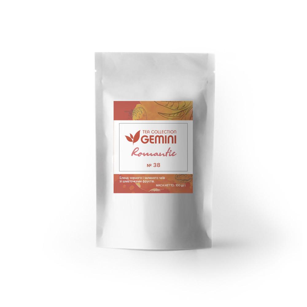 Чай черный листовой Gemini Tea Collection Romantic 100 г (4820198875244)