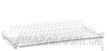 Сушка для посуду 800 біла термопласт. (Китай)