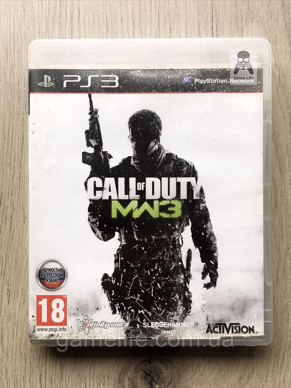 Call of Duty Modern Warfare 3 (русская версия) (б/у) PS3