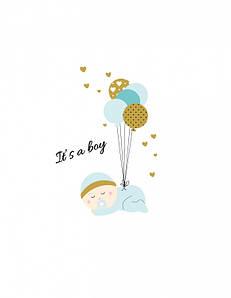 Постер в рамке It is boy 30 х 40 см (sd124120)