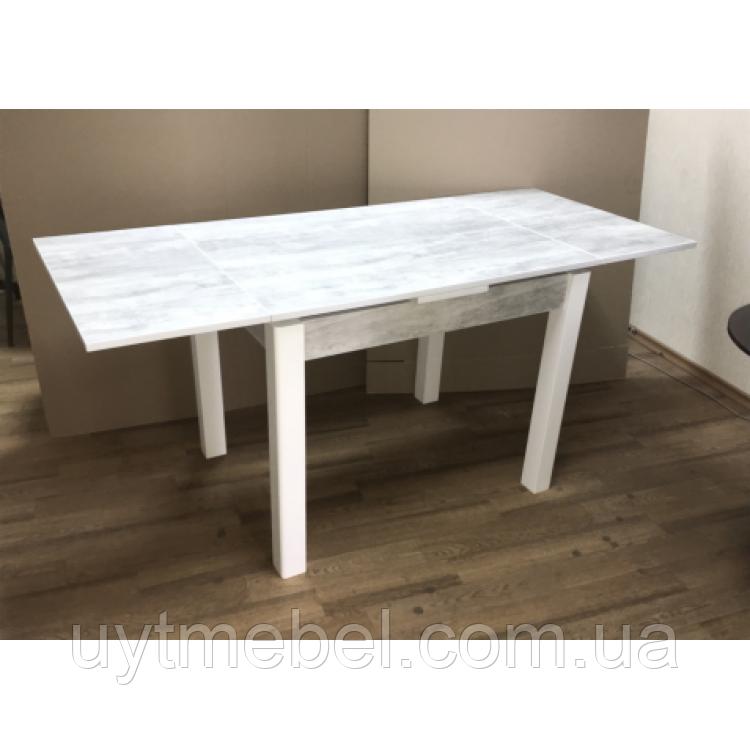 Стіл обідній Марсель 110 білий/клондайк (Ф'южн)