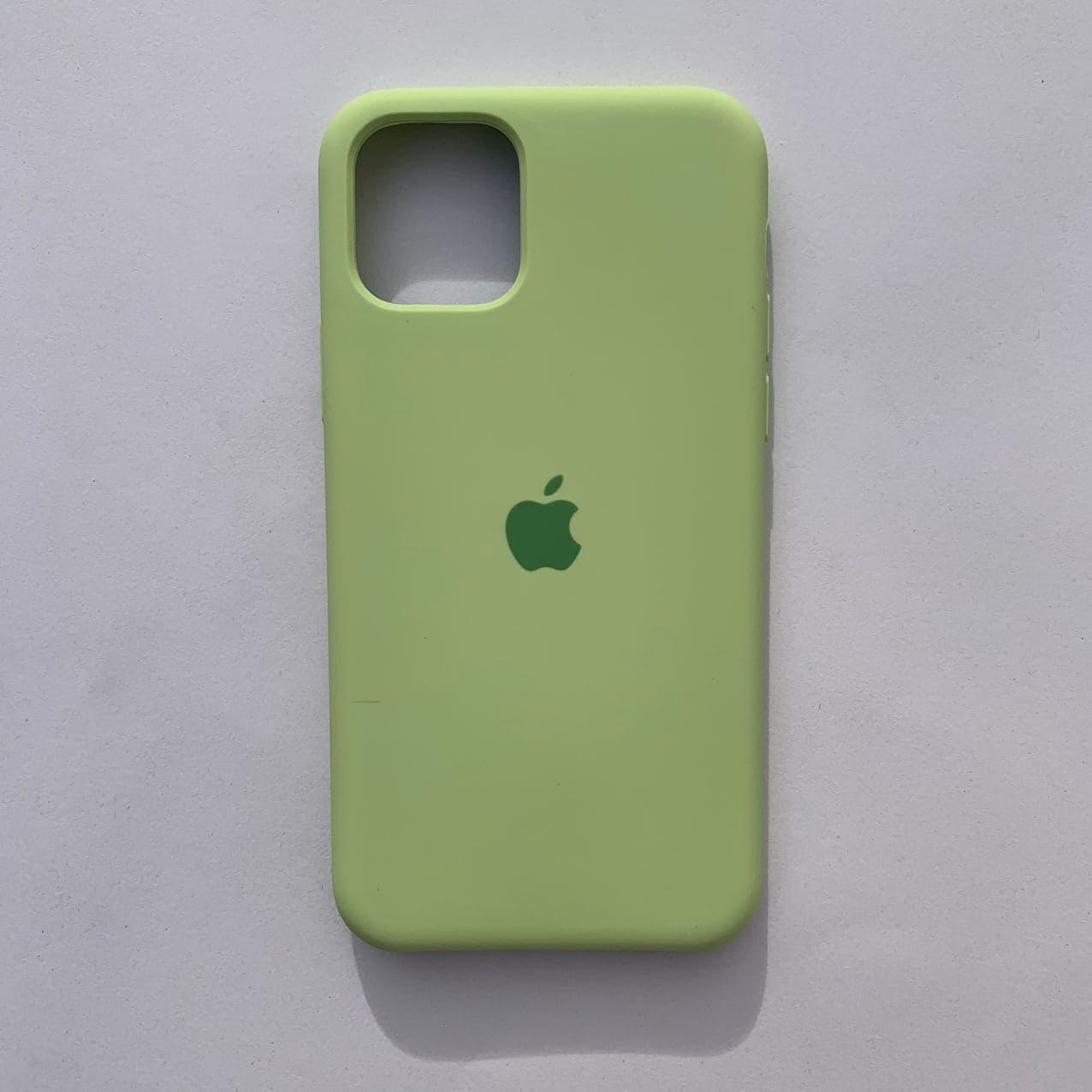 Чехол-накладка Silicone Case для Apple iPhone 11 Pro Avocado