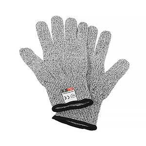 Перчатки с защитой от порезов Lesko YY19-0029 размер XL Серый