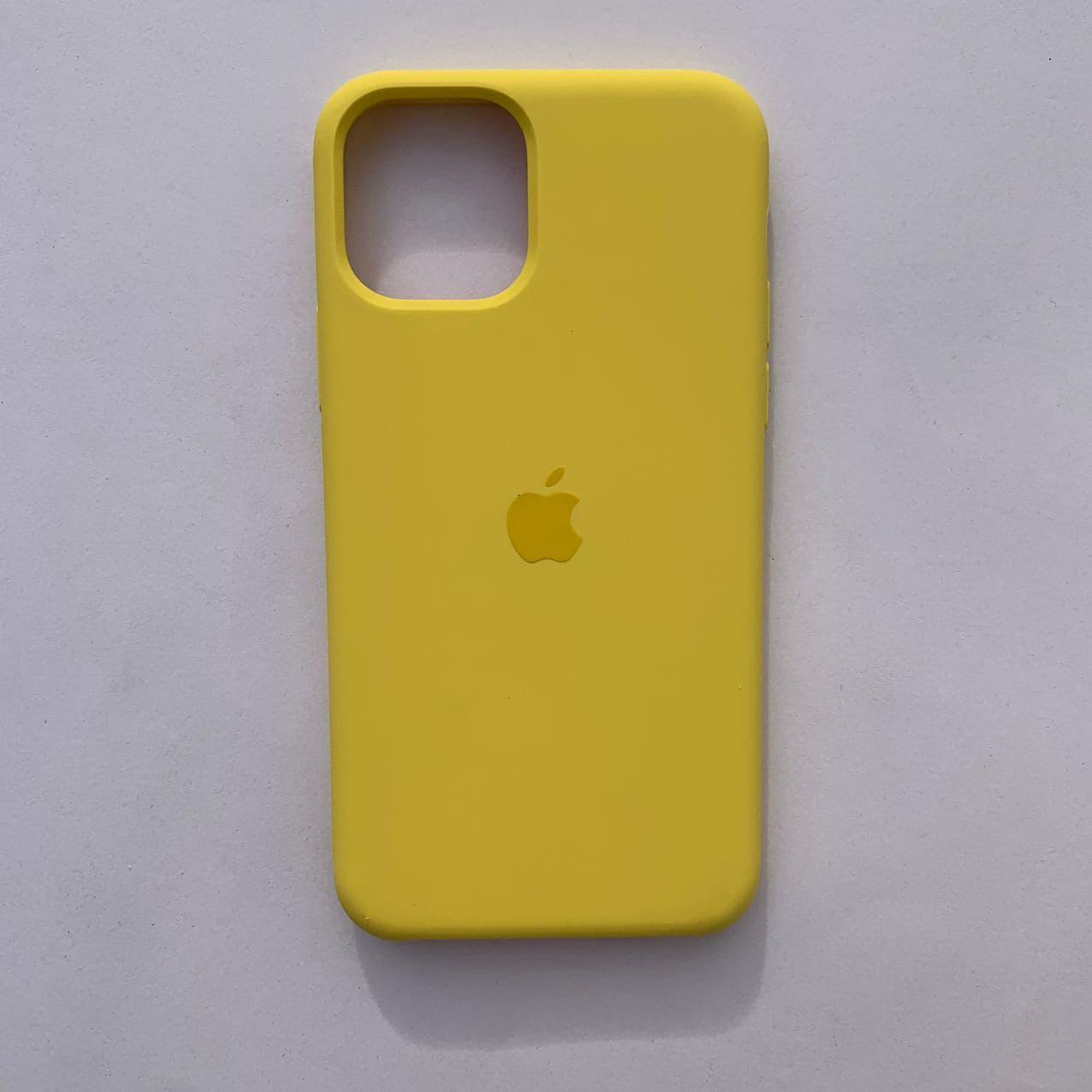 Накладка Silicone Case для Apple iPhone 11 Pro Canary Yellow